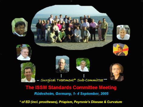 Sub-Committee of the ISSM Standards Committee